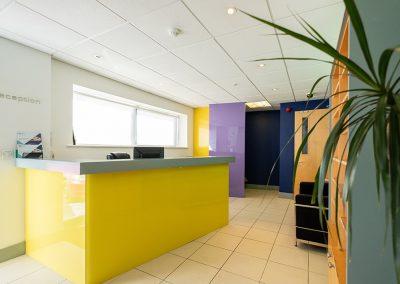 Sky Business Centres Reception