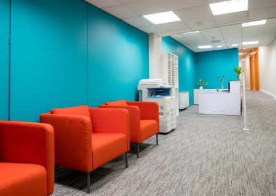 Sky Business Centres Clontarf Reception Area