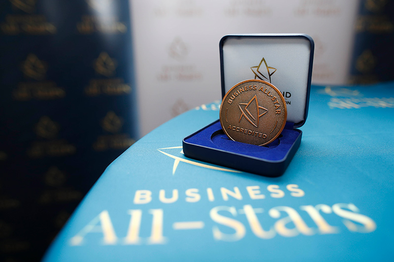 All Star Accreditation Medal