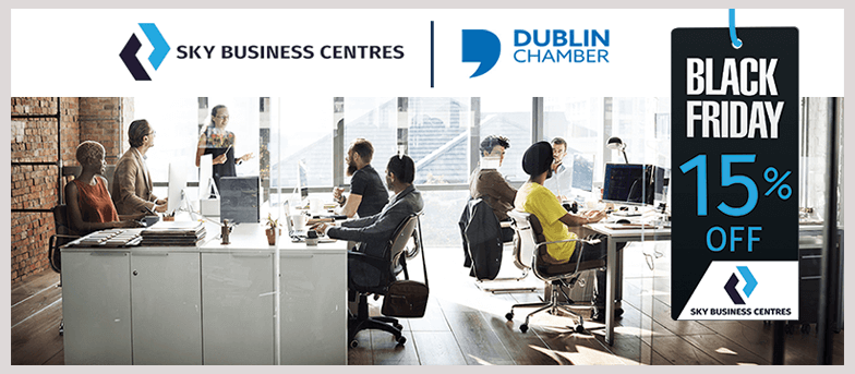 new Sky-Business-Centres and Dublin Chamber