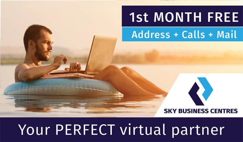 Sky Business Centres Virtual Office Dublin Chamber Of Commerce Special Offer