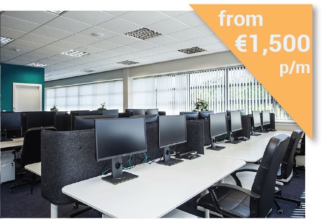 Serviced Office in Dublin from €1500