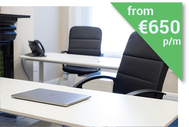 Serviced Office in Dublin from €650