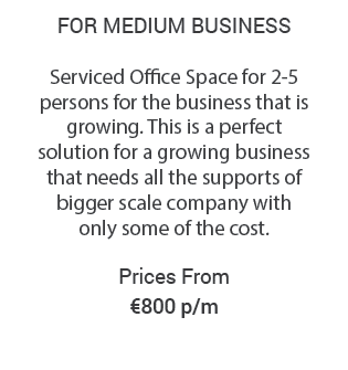 Serviced Office in Dublin from €800 Details