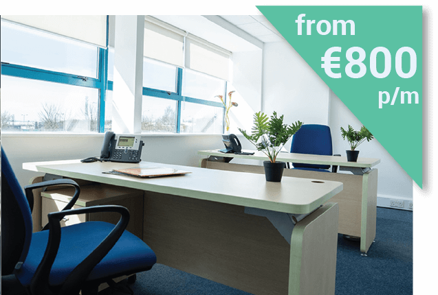 Serviced Office in Dublin from €800